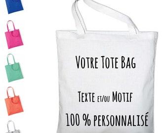 Personalized Tote bag 100% cotton tote bag
