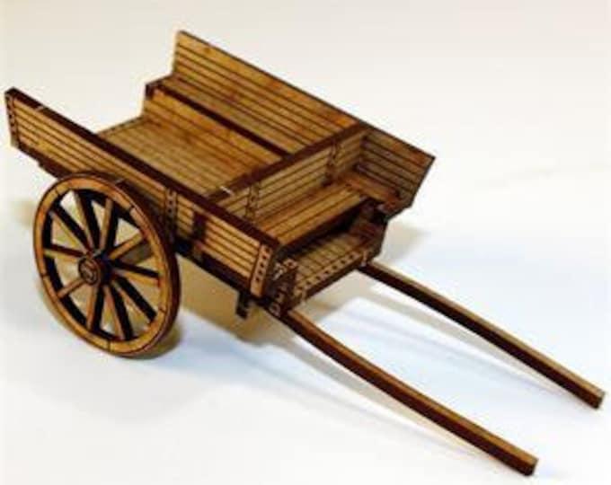 28mm Terrain: Utility/Horse Cart - 4Ground Miniatures