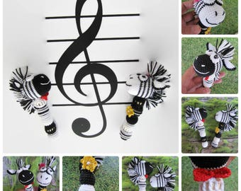child prop gift unique baby gift zebra gift baby coming home gift rattle toys crochet new baby toy nursing baby toys toddler gift newborn