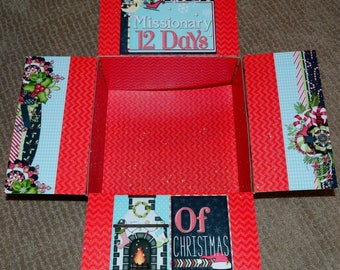 Care Package Kit - LDS Missionary '12 Days of Christmas' - INSTANT DOWNLOAD