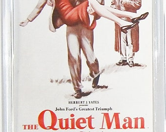 The Quiet Man John Wayne Maureen O'Hara Ward Bond movie poster Fridge Magnets & Keyrings Version 2 - New