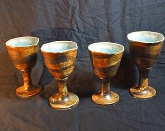 Ceramic Goblet: Desert Oasis