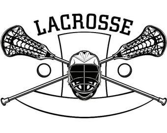lacrosse sticks svg etsy rh etsy com crossed lacrosse sticks clipart lacrosse stick clip art black white