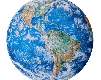 Earth Drawing Print
