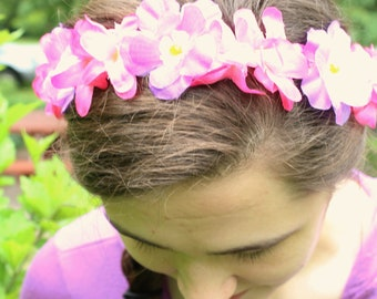 Rapunzel Inspired Flower Crown