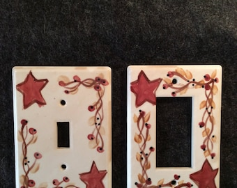 Country Star Switch Plate Cover