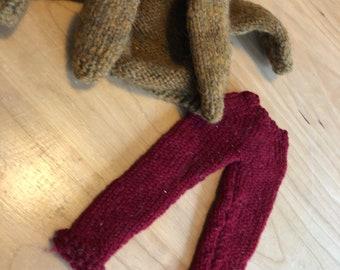 Hamdknit Doll Clothing Sweater & Pant