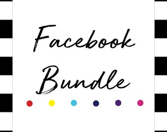Facebook Digital Bundle | Cover Photo | Album Covers