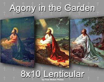 Agony in the Garden, 8x10 Lenticular