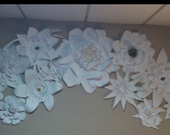 Paper Flower Arch