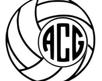 Volleyball SVG