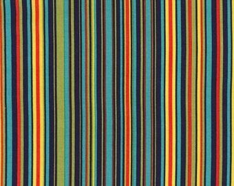 Michael Miller Fabrics - Play Stripe Navy - CX3137-NAVY-D
