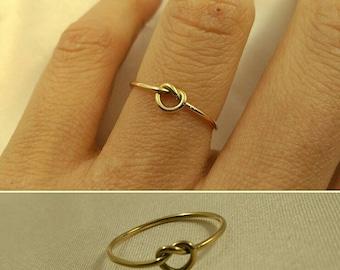 Knot ring gold 18kilates Knot ring gold 18 k