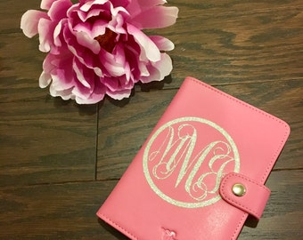 Monogrammed Passport Cover//Passport Cover//Personalized//Bridal//Gifts//Engagement Gifts