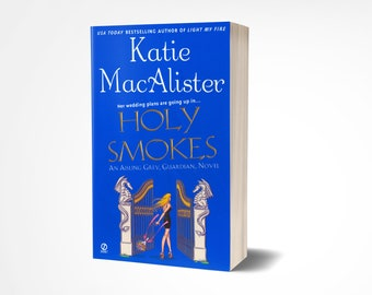 Personalized paperback copy of HOLY SMOKES