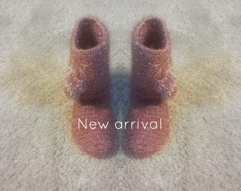 Crochet boots|Crochet Boots For Girls| Gorgeous crochet boots for winter season