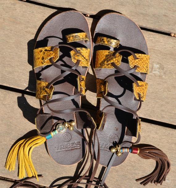 337fd7c05a2d Sandals Lace Bohemian Women Gladiator Sandals Sandals Sandals up Sandals  Hippie Leather Greek Sandals Unique Sandals Sandals Sandals wq87xzIn