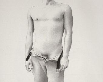 2837 Male Figure Drawing