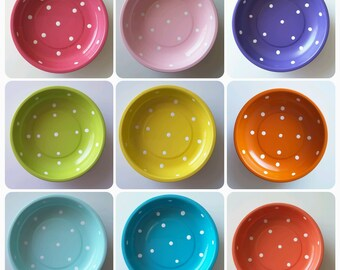 Polka Dot Magnetic Pin Bowl for jewelry, pins and so much more