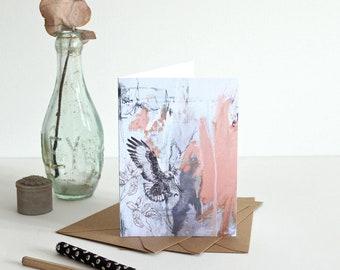 Jackal Buzzard - Greetings Card