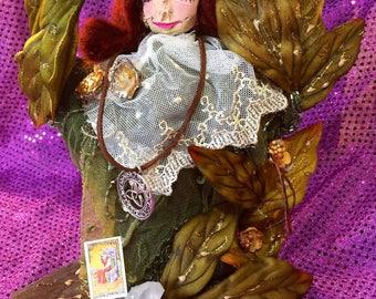 Spring Rites Art Doll/ Spirit Doll