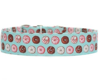Donuts Dog Collar / Custom Dog Collar / Martingale