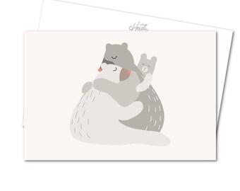 Postcard - Hug