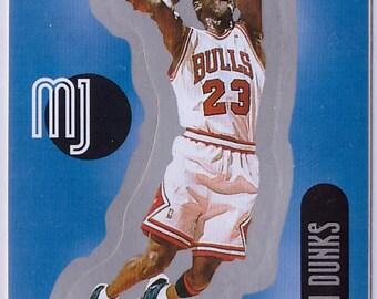 1998 MICHAEL JORDAN Upper Deck Basketball INSERT Sticker 29