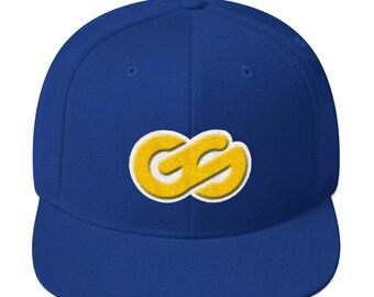Golden Stated Logo Snapback Hat