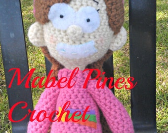 PATTERN Mabel Pines from Gravity Falls Inspired CROCHET PATTERN