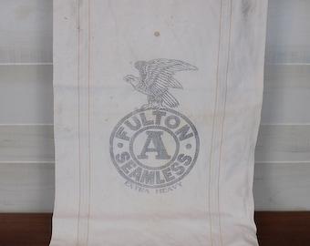 Vintage Cloth Fulton Feed Sack