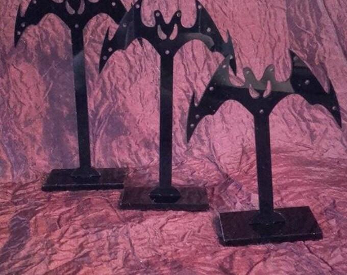Vampire Bat Earring Stand - jewellery display hanger