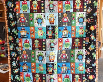 Made to Order Panel Quilt, Wheelchair Quilt, Baby Quilt, Crib Quilt, Toddler Quilt, Throw Quilt, Oversized Throw Quilt, Nursery Bedding