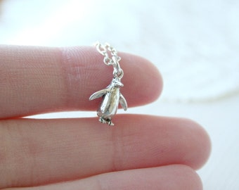 The Sterling Silver Penguin Necklace