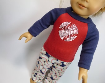 American Girl Doll Logan Pajamas