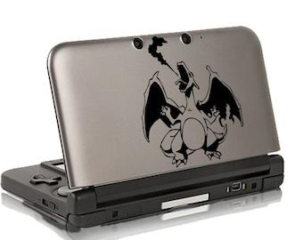 Dracaufeu Pokemon Autocollant, Autocollant Pour 3ds 3ds XL