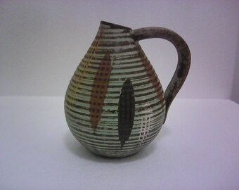 Dulmer and Breiden Sgraffito Jug for Dee Cee, 236/11, 1960's