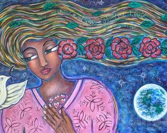 Divine Feminine Print-Everything You Do Is Sacred
