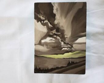 Original storm painting