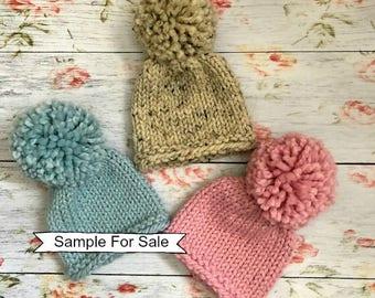 Newborn Hat, Knit Newborn Hat Boy, Knit Newborn Hat Girl, Newborn Photo Prop, Newborn Boy Hat, Newborn Girl Hat, Knit Newborn Hat