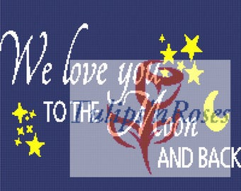 We Love You to the Moon and Back Graph