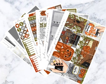 Haunted Hayride: September Sub Luxe Sticker Kit