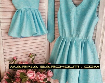 Mother and Daughter Matching Outfits, SET OF TWO dresses
