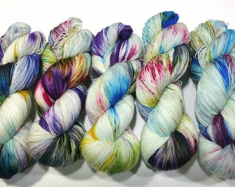 Nympheas: Dyed to Order Hand Dyed Yarn - Suitable for knitting and crochet