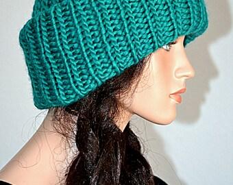Russian Ushanka Knitted Hat/ Handmade Ushanka Turban/ Winter Fashion Handmade Ushanka style Beanie