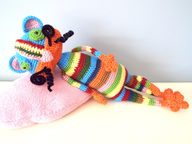 Amigurumi Cat Doll : Crochet colorful happy cat kids amigurumi stuffed animals gift ideas