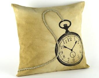 """Rustic Canvas pillow ~ Lake house pillow ~ Retro style """"TIMELESS"""" ~ 18x18 pillow ~ Canvas pillow ~ Cottage pillow ~ Home Decor~  Cabin Decor"""