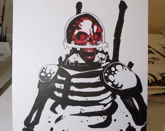 Red Skull Ghoul