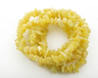 olive jade chips beads big size 6-10mm strand | olive jade semi precious gemstone wholesale price