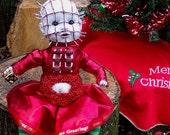 Baby Christmas Pinhead (Made to Order)